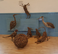 Willow Sculpture Workshop- FULLY BOOKED -please get in touch if you would like to be added to the reserve list