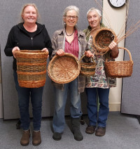 Round Basket Workshop for Beginners and Improvers - FULLY BOOKED -please get in touch if you would like to be added to the reserve list