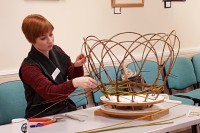 Willow Plant Supports Workshop - Peony Supports. Supporting 'Wellbeing' for World Mental Health Week