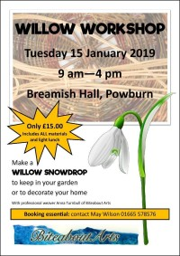 Willow Snowdrop Workshop