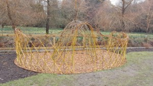 Willow Dome, Howick Hall Sensory Garden