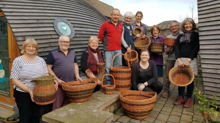 Beginners and Improvers Basketry Workshops