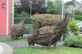 Willow Hens, Harlow Green Primary School, Gateshead