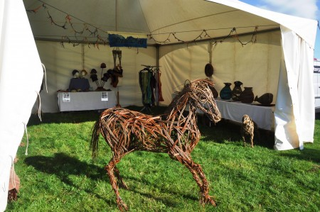 Making a Willow Foal at the Glendale Show