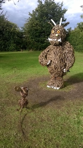 Willow Gruffalo and mouse