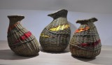 New work - Autumnal Willow Vessels with Felt