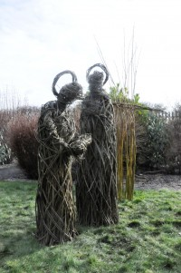 Willow Sculptures made by Year 5 St Wifrid's RCVA Primary School, Blyth