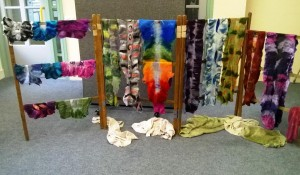 Nuno Felted Scarves Workshop