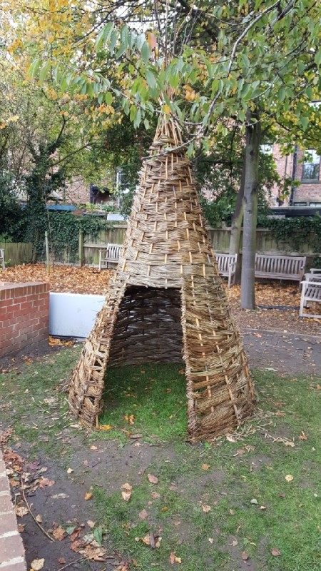 Willow Tipi, Royal Grammar School, Newcastle upon Tyne, Year 6