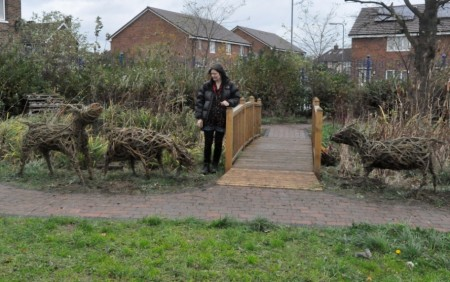 Berwick Hills Primary School Willow Sculptures